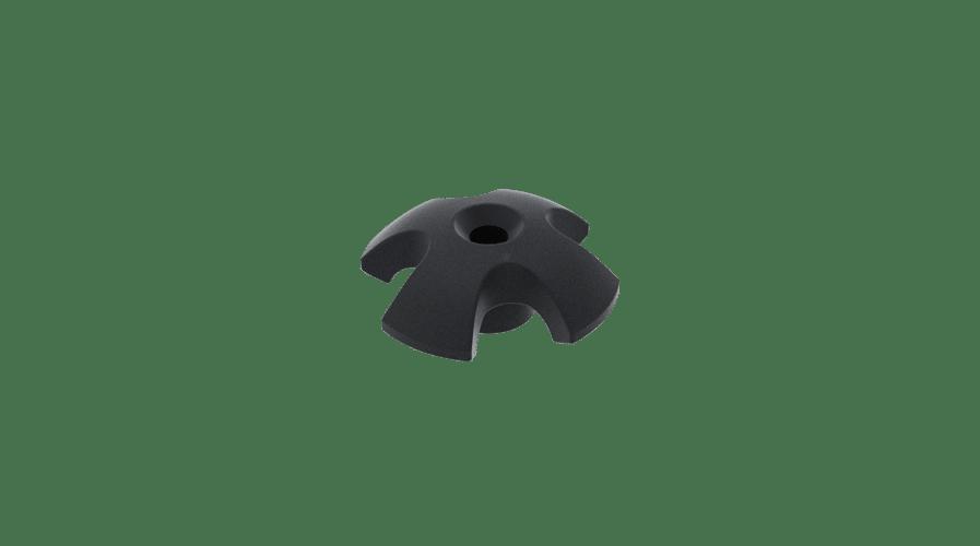 KS Recessed Deckfitting Ø 5 mm round cross B