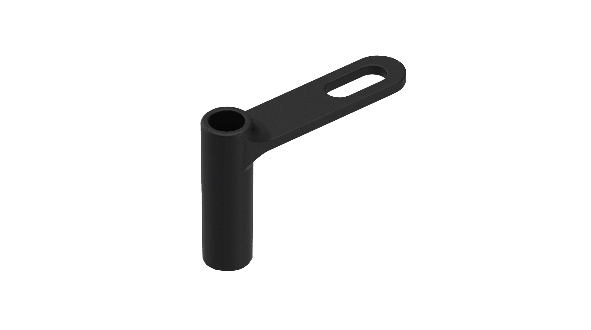 Rudder sleeve with bar plastic